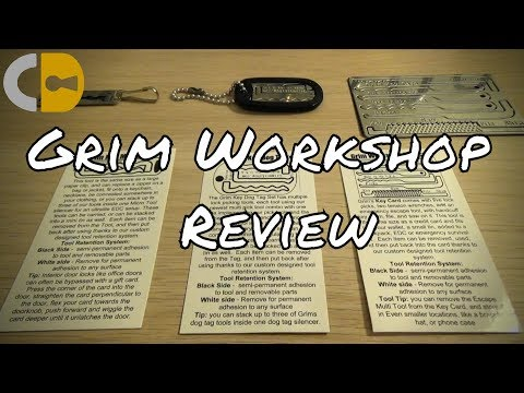 [100] Grim Workshop Wearable Lock Pick and Escape System Reviewed