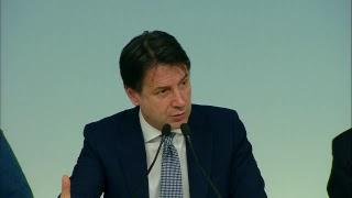 Conferenza stampa Conte - Salvini - Bonafede
