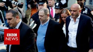 Harvey Weinstein surrenders to New York police - BBC News