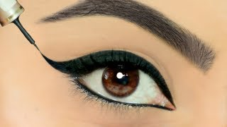 Eyeliner लगाते वक़्त क्या आपके हाथ कांपते है? Use This TRICK To Apply Perfect Wing Eyeliners   Anaysa