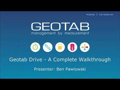 Geotab Drive: A Complete Walkthrough