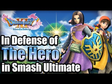 In Defense Of The Hero In Smash Bros Ultimate | Smash A History: What Is Dragon Quest?