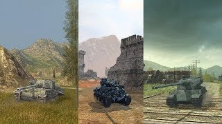 3 in 1: VK45.02 B, M4A1 Rev. and AMX 50 120