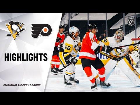 NHL Highlights | Penguins @ Flyers 1/13/21