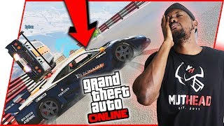 I'M GETTING TIRED OF THIS! - GTA Online Race Gameplay