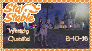 Star Stable Online~ Jorvik Stables Open House Quests!
