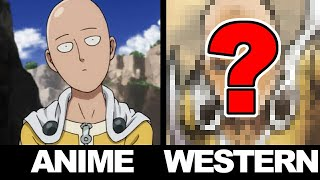 Drawing ONE PUNCH MAN in a WESTERN STYLE!