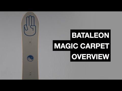Bataleon Magic Carpet 2017-2018 Snowboard Review  | The Snowboard Asylum