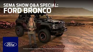 [Ford] Ford Auto Nights: SEMA Show Q&A Special - Bronco | Ford