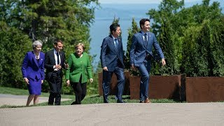 Day 1 of the 2018 G7 Summit in 60 seconds