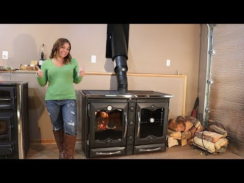 La Nordica America Cookstove - First Burn