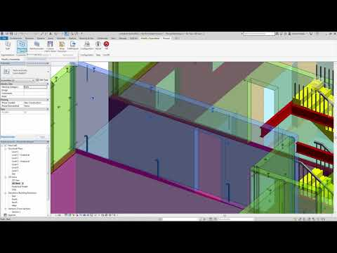 Revit 2019 Mounting Parts Demonstration
