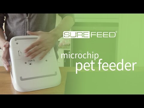 How to replace the batteries on your SureFeed Microchip Pet Feeder