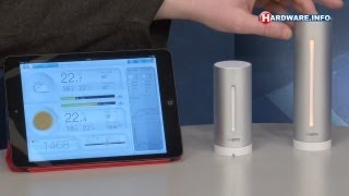 Netatmo weerstation voor Android en iOS - Hardware.Info TV (Dutch)