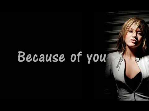 Because Of You - Kelly Clarkson -Instrumental Version +lyrics