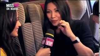 "Anggun ""Miss VIP on Board the iDTGV"" LIVE accoustic [4 songs] French 2012"
