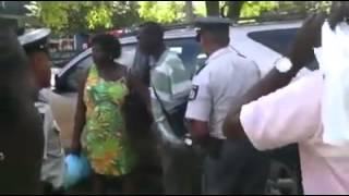 Dief in Suriname wordt gearresteerd