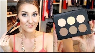 Contour/Highlight TUTORIAL & REVIEW- Anastasia Contour Kit