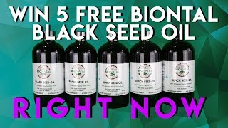 WIN 5 FREE black seed oil