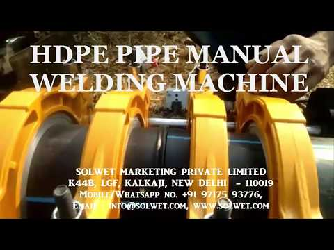 Solwet PPR Pipe Welding Machine