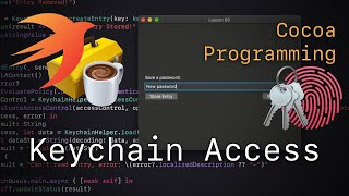 Cocoa Programming L89 - Keychain Access