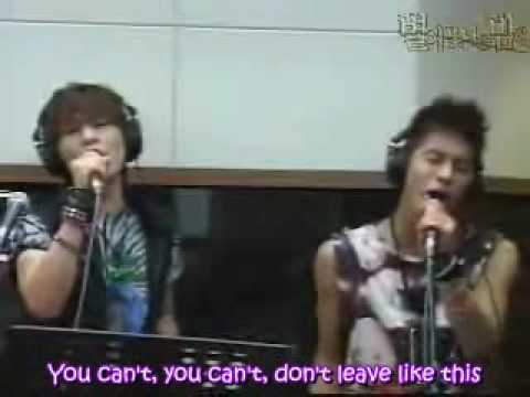 Onew And Jonghyun, Please Don't Go [eng Sub]