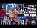 Johnny Robinson FULL Hall of Fame Speech | 2019 Pro Football Hall of Fame | NFL