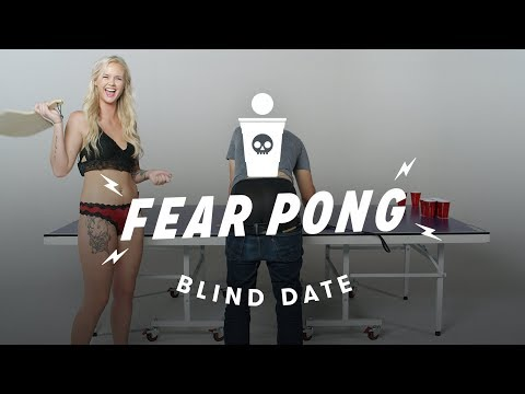 Blind Dates Play Fear Pong - Peter vs. Ashley