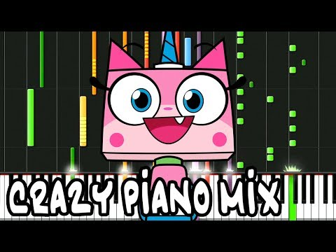 "Crazy Piano Mix! ""UNIKITTY"" Theme Song"