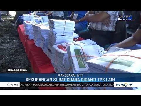 Surat Suara Tertukar, Pencoblosan di Kabupaten Manggarai Sempat Dihentikan
