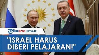 Al Aqsa Palestina Diserang Israel, Presiden Erdogan Ajak Vladimir Putin 'Beri Pelajaran' ke Zionis