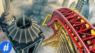 GILA! 10 Roller Coaster Paling MENGERIKAN Di Dunia