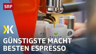Espressomaschinen für den Heimgebrauch im Test  | 2020 | SRF Kassensturz