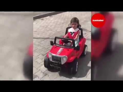 Konya'da hırsızlar 4 buçuk yaşındaki İkra'yı üzdü!