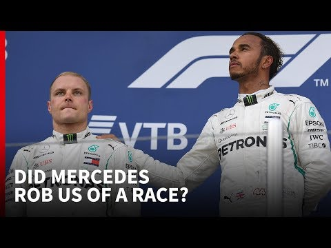 Did Mercedes rob us of a race?