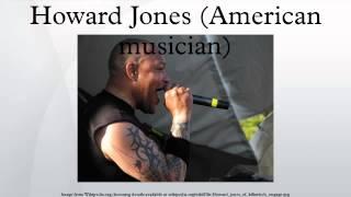 Howard Jones (American musician)