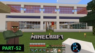 MINECRAFT | RAIDERS TRIED TO ATTACK ON OUR SHOPPING MALL & MAKING COLOURFULL WINDOWS#52