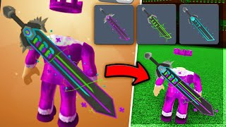 How To WEAR ALL 3 RB BATTLES SWORDS! (Roblox)