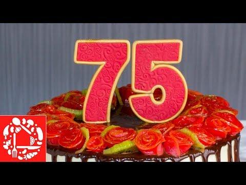 Как сделать цифру на торт своими руками