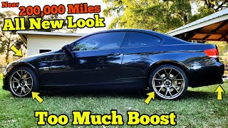 Making a DONATED 200,000 Mile Twin Turbo BMW Look and Drive like NEW! (and then ENGINE MALFUNCTION)