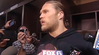 Clay Matthews Never Heard Of Anybody Tackling Somebody Without Any Hands