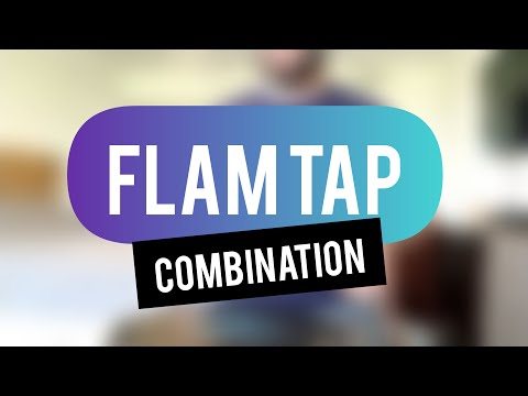 A tricky warm-up featuring flam taps and inverted flam taps for intermediate to advanced players.