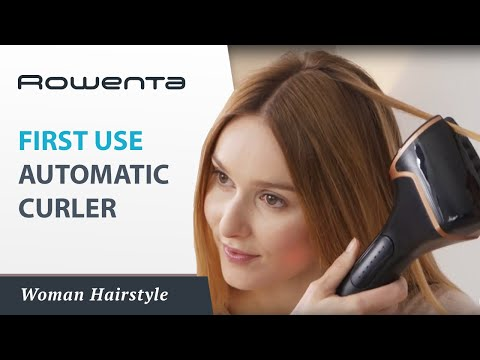 SO CURLS Automatic curler by Rowenta – First use