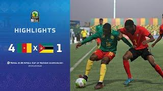 CAN U20 2021 | Groupe A : Cameroun 4-1 Mozambique