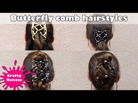 Butterfly comb hair styles