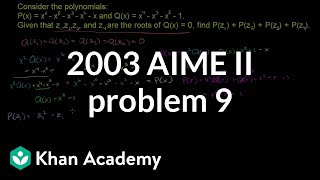 2003 AIME II Problem 9