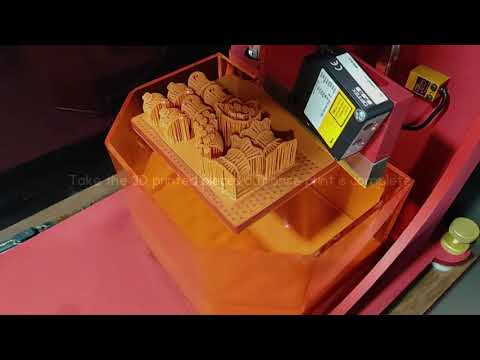 TOP-Down CAM 3D Printer