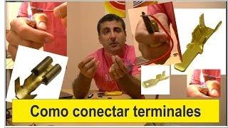 Crimpear O Conectar Terminales  Método No Convencional.