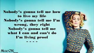 Claire Richards On My Own [Lyrics]