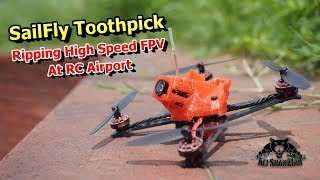 SailFly X Full speed Toothpick Ripping High Speed FPV RC Airport